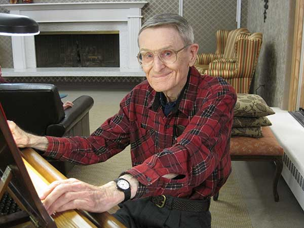 Dr. Charles Reid at Hilltop House Retirement Community